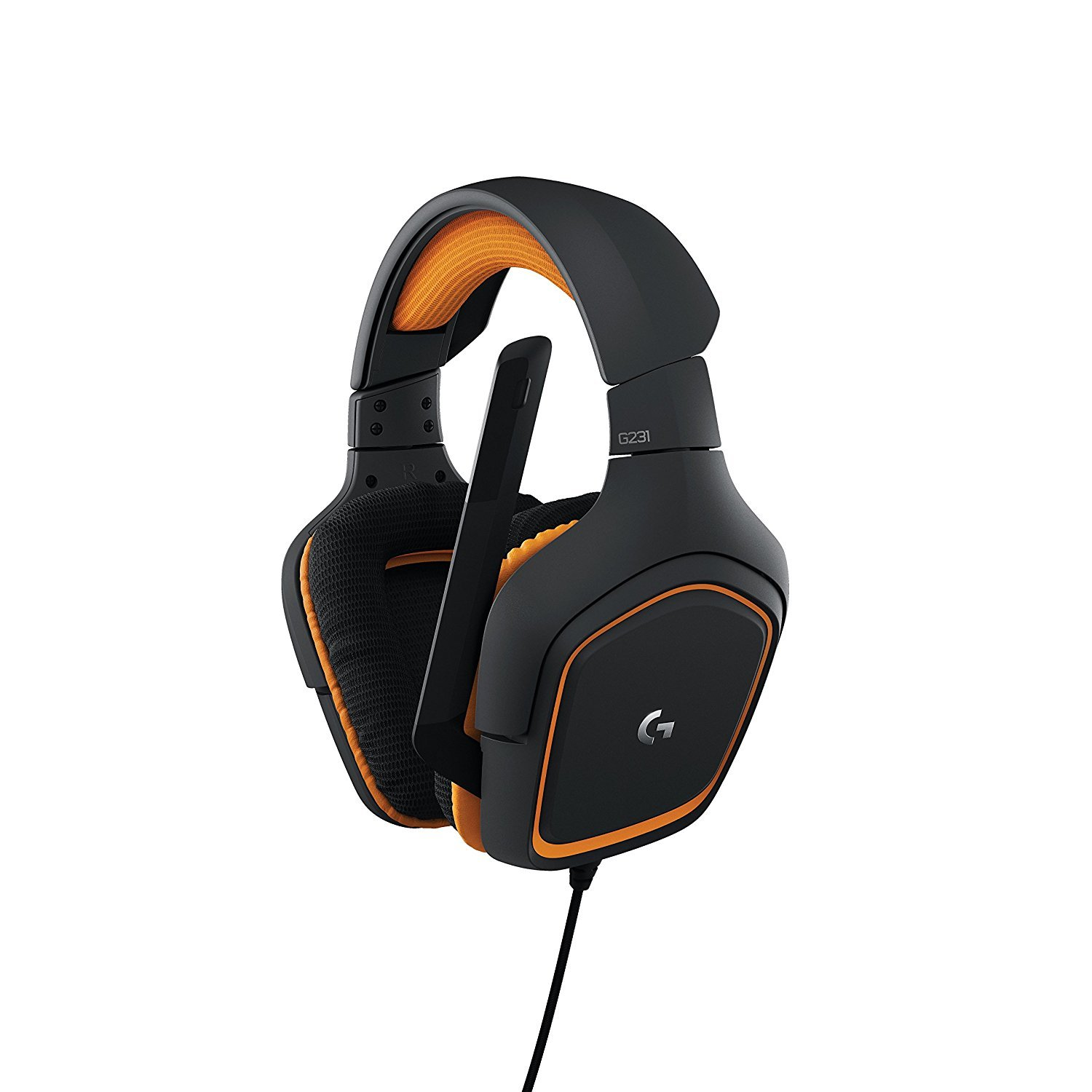Logitech gaming headset with mic