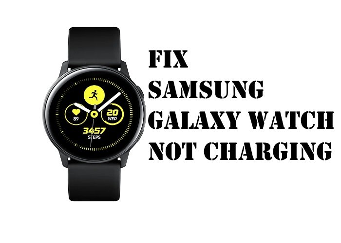 Galaxy Watch Active not charging