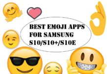 Best Emoji Apps for Samsung Galaxy S10 Plus, S10e, S10