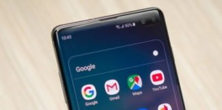 Gmail waiting to sync error on Samsung S10, S10Plus, S10e