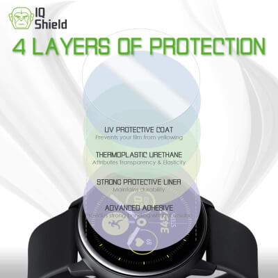 Best Active 2 Screen Protector by IQ Shield
