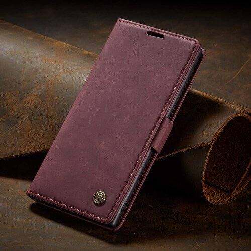 Magnetic Wallet Case Note 10