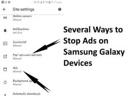 Stop Ads on Galaxy S10