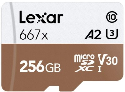 S20 SD Card to store 8K Videos