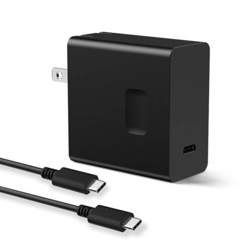 USB C Wall Charger, Huntkey 45W Type-C Fast Charging Adapter