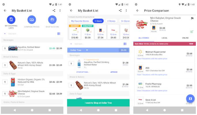 Best Apps for Grocery Stores Price Comparison for Android and iOS in 2020