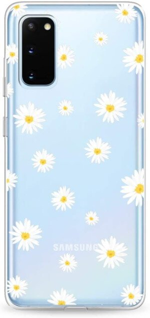 Daisy Floral Flower Clear Case