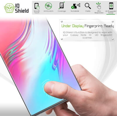 IQ Shield Screen Protector for Note 10