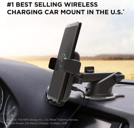iOttie Wireless Car Charger and Phone Mount