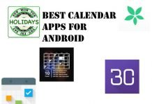 Best Calendar Apps for Android in 2020
