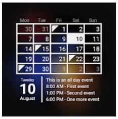 Free Calendar App for Android