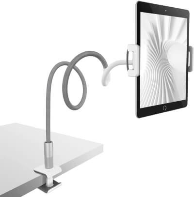 Gooseneck Tablet Holder for Desk