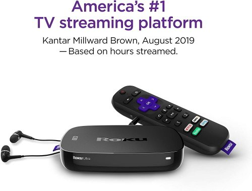 Roku Ultra Streaming Media Player (2019 - The Latest)