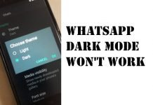 WhatsApp Dark Mode Won't Work on Android