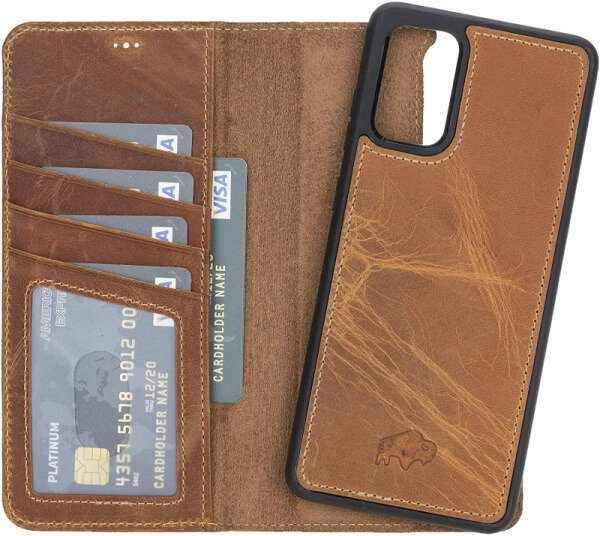 Best Leather Case for Samsung S20Plus