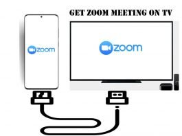 How to Use Zoom Meeting on TV