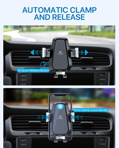 Andobil Adjustable Wireless Charger for Car