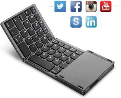 Jelly Comb Wireless Keyboard with Touchpad