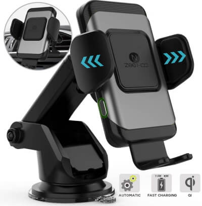 ZeeHoo Auto Clamping Car Charger
