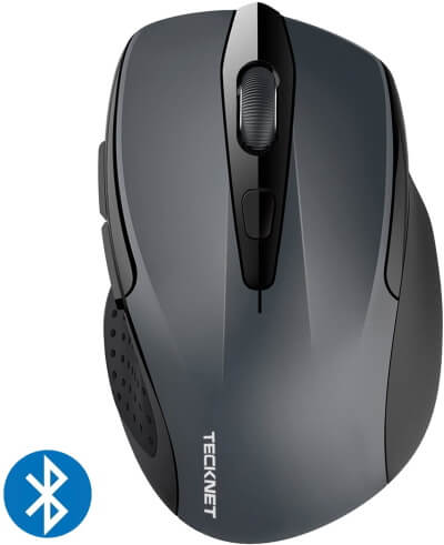 TeckNet Wireless Mouse with Battery Indicator