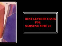 Best Leather Cases for Samsung Note 20