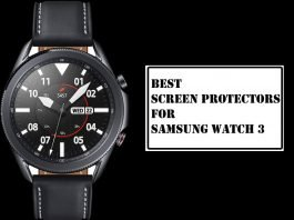 Best Screen Protectors for Samsung Galaxy Watch 3