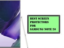 Best Screen Protectors for Samsung Note 20