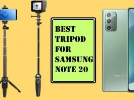 Best Tripod for Samsung Note 20