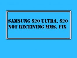 Fix Samsung S20 Ultra, S20 Not Receiving MMS