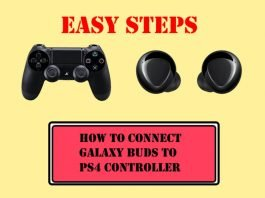 How to Connect Galaxy Buds Plus Galaxy Buds to PS4 Controller