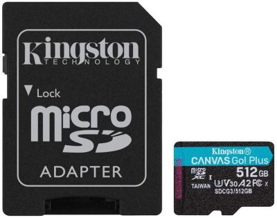 Kingston microSDXC Canvas Go Plus