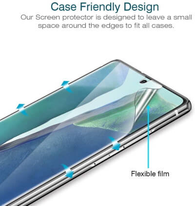 LK Case Friendly Screen Protector [3-Pack]