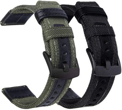 Olytop Nylon Material Strap for Galaxy Watch Active 2