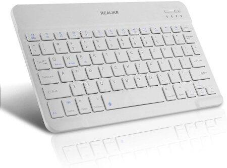 REALIKE Ultra Slim Rechargeable Keyboard