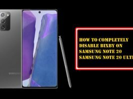 How to Completely Disable Bixby on Samsung Note 20 Ultra and Note 20